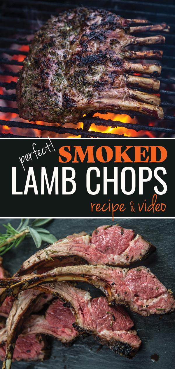 Smoked and Grilled Lamb Chops