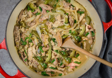 My Mama's Green Chili Turkey