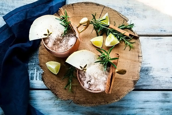 Holiday Apple Cider Moscow Mule