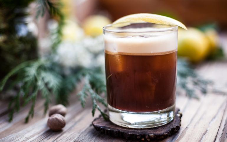 Averna Sour Cocktail (aka Amaro Sour)