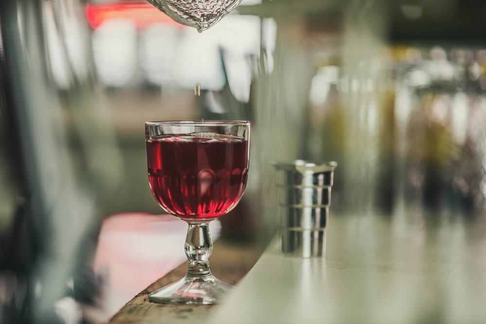 Boulevardier Cocktail by Standard Spoon