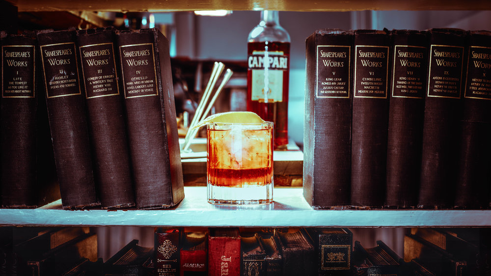 Negroni Cocktail History with Campari by Standard Spoon