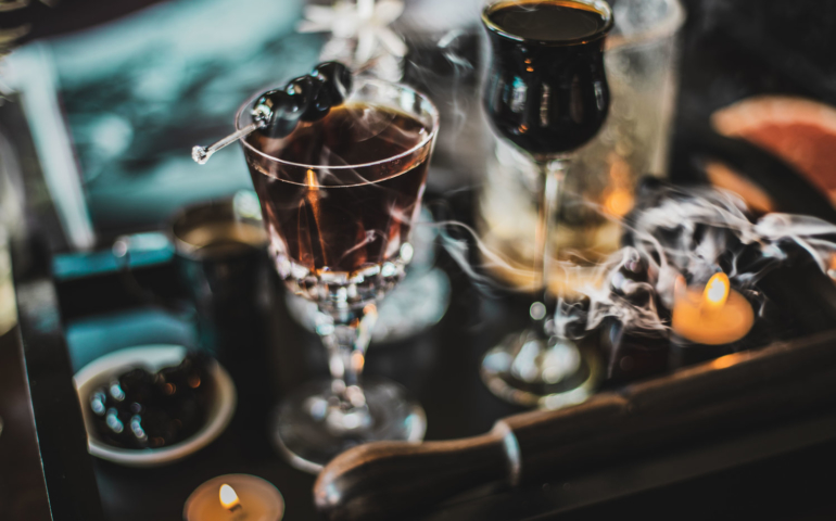 Take Me to the Dark Side… The Black Manhattan Cocktail