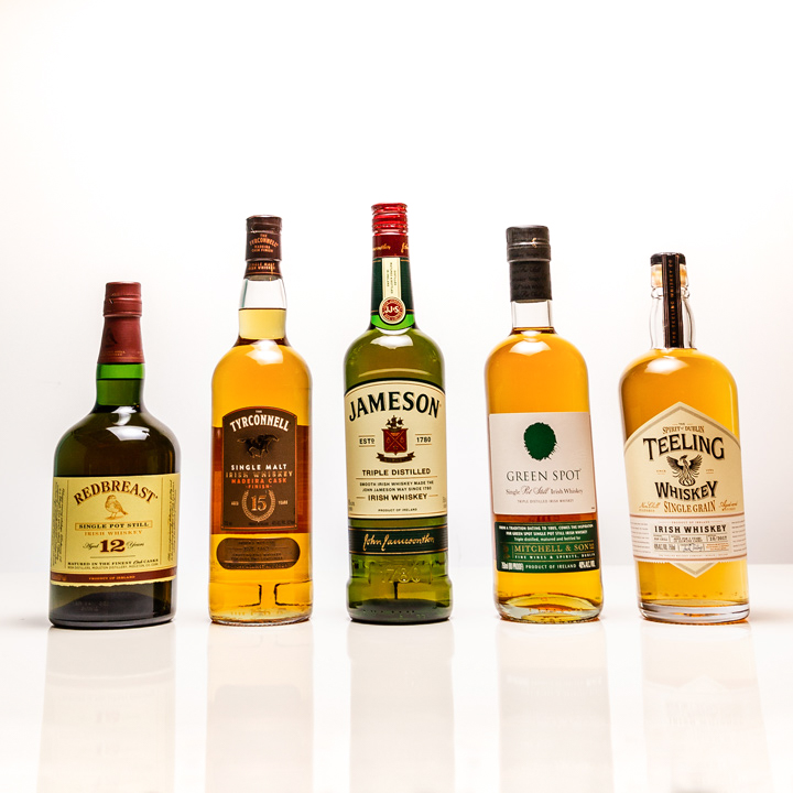 5 Essential Irish Whiskey Bottles You Need for Your Home Bar