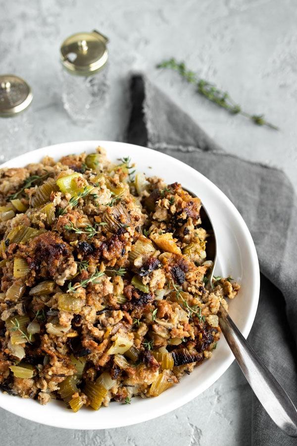 Amazing Turkey Stuffing Recipe with Sausage