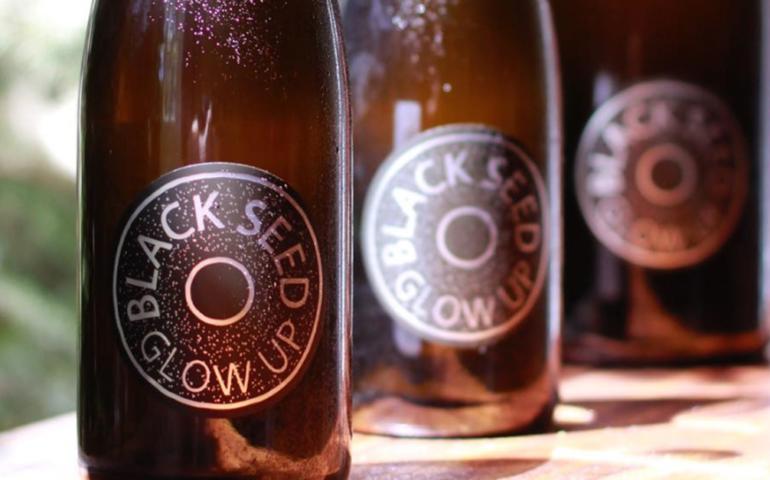Brooklyn's Folksbier and Black Seed Bagels Team Up for Bagel Beer