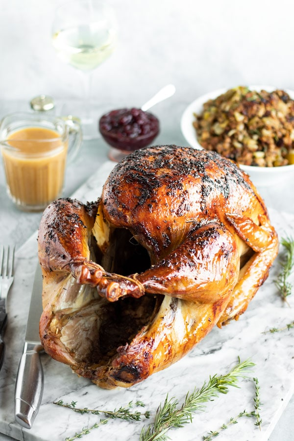 How to Brine a Turkey – And a Step by Step for Turkey Dinner