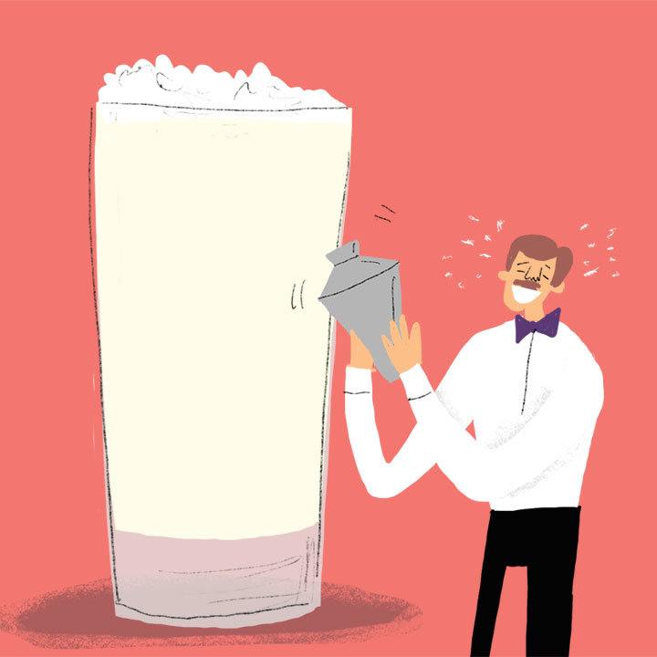 The Delicious Headache Behind the Making of a Great Ramos Gin Fizz