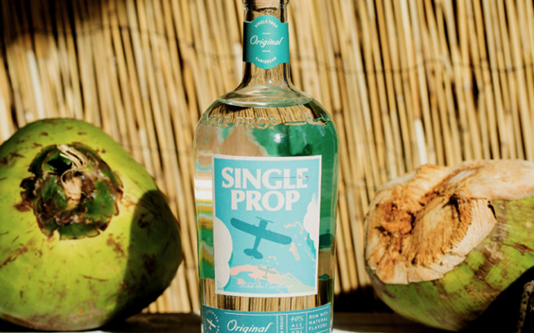 How a Single Prop Plane's Journey Through the Caribbean Led to an Amazing New Rum