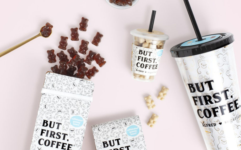 These Caffeine-Spiked Gummy Bears are Infused With Cold Brew Coffee