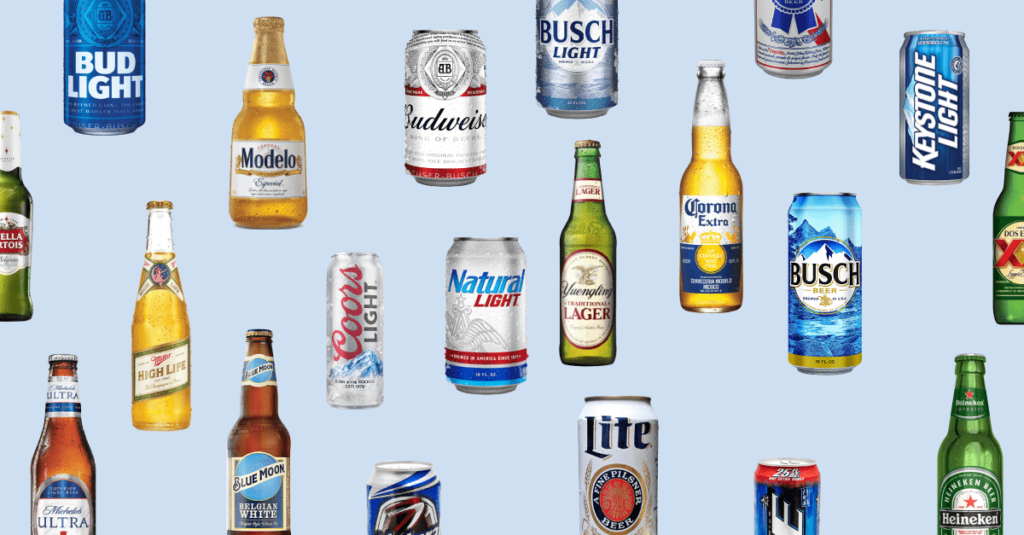 A Guide To The Calories Carbs And Abv In America S Best Selling Beers Chart Naija Wine Lovers