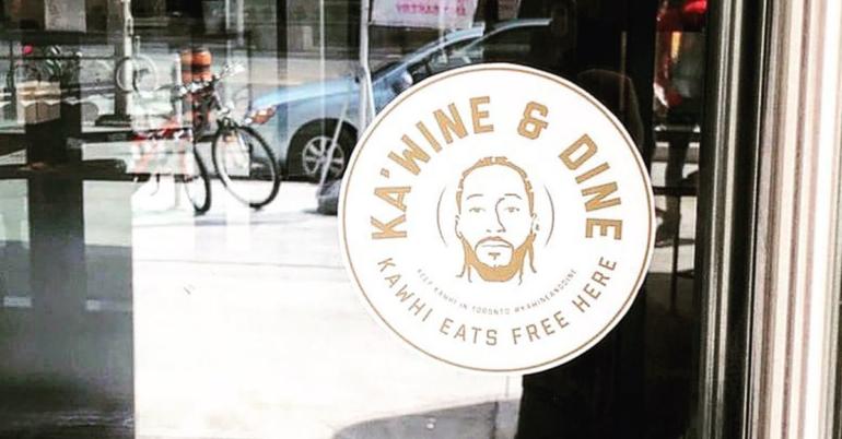 Toronto Restaurants Offering Kawhi Leonard Free Food & Wine for Life If He Stays With Raptors