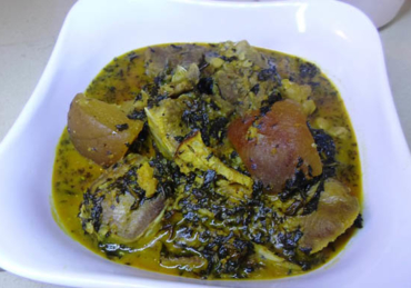 How To Make Bitter-leaf soup – Ofe onugbu