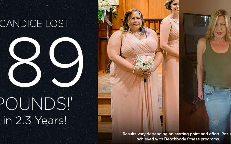 Candice B. Lost 189 Pounds in 2.3 Years