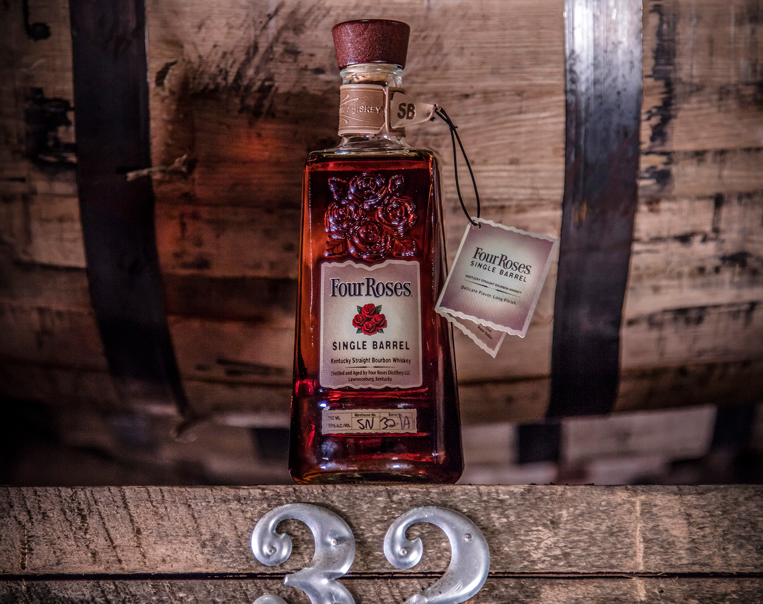 Four Roses Single Barrel Bourbon, $38