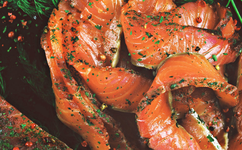 Raising a Glass to Gravlax, an Occasionally Imbibing Scandinavian Classic