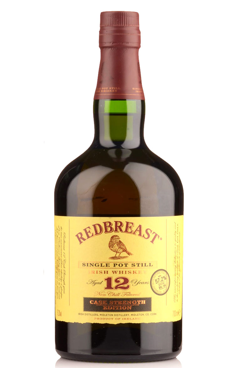 Redbreast 12-Year-Old Irish Whiskey, $48