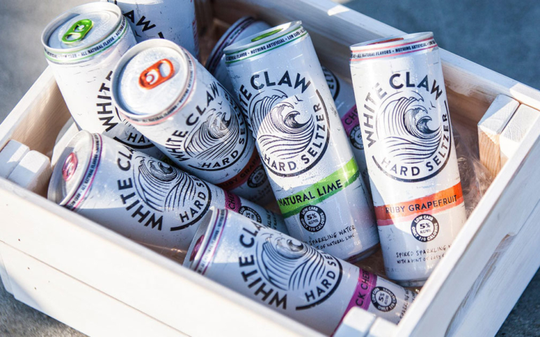 Viral 'Ain't No Laws When You're Drinking Claws' T-Shirt Blocked By White Claw Legal