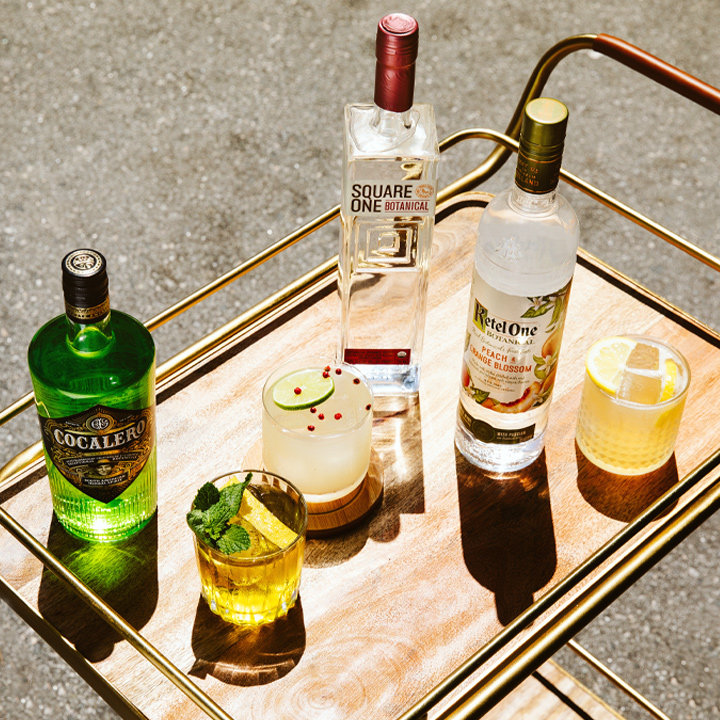 On the Fence About Gin? Try 3 Ways to Use 3 Gin-like Vodkas.
