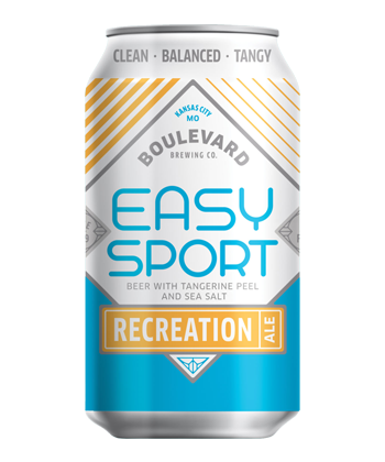 Boulevard Brewing Easy Sport Recreation Ale
