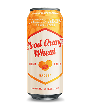 Jack's Abby Blood Orange Wheat
