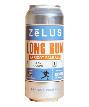 Zelus Long Run Apricot Pale Ale