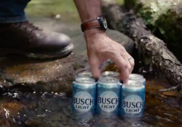 Secret Forest Pop Up Bar Offers Free Busch Beer for Life