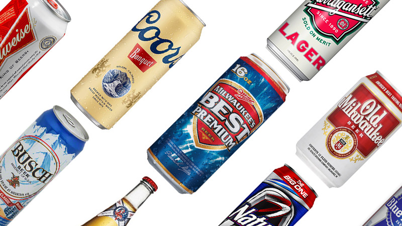 11 Cheap American Beers Ranked From Awful to Drinkable