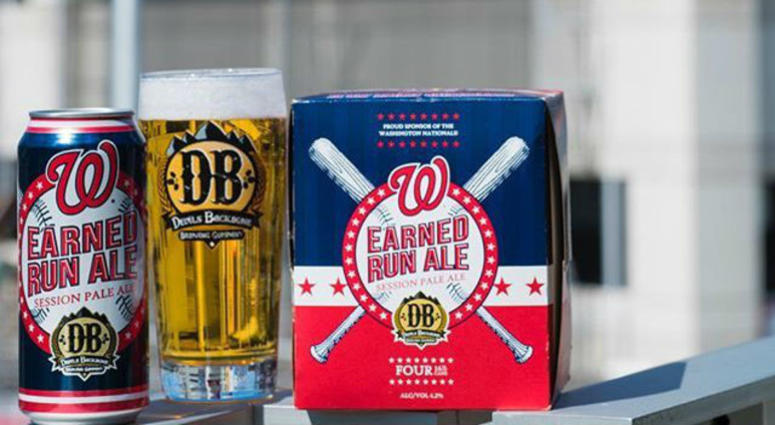 WASHINGTON NATIONALS: DEVILS BACKBONE EARNED RUN ALE