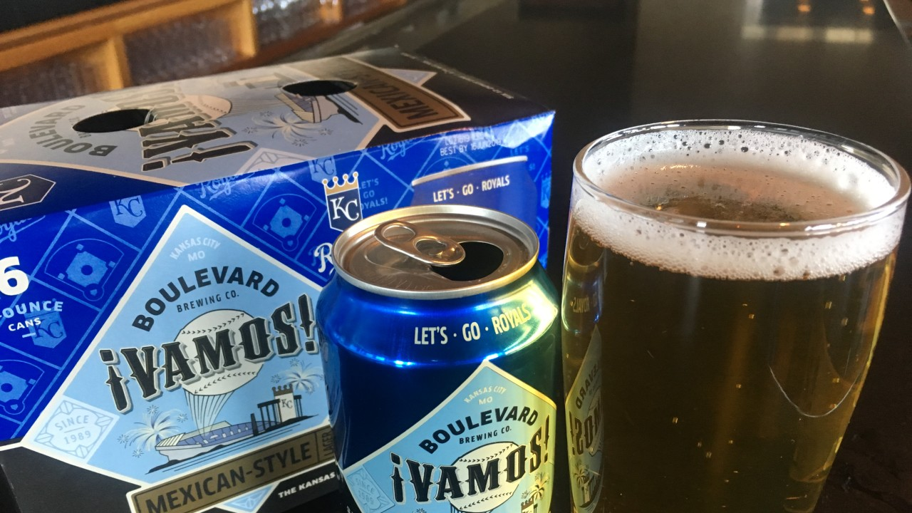 KANSAS CITY ROYALS: BOULEVARD BREWING ¡VAMOS!
