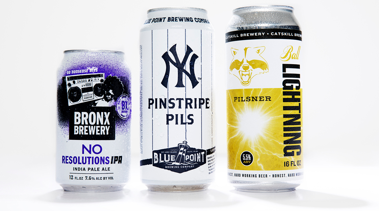 NEW YORK YANKEES: BLUE POINT BREWING PINSTRIPE PILS