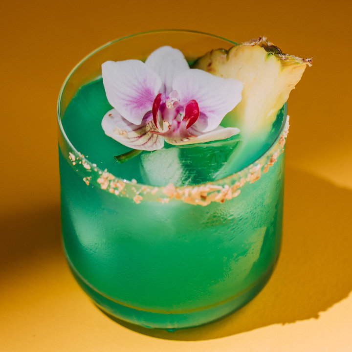 Meet Updated Blue Hawaii. It's a Drink You Should Know.