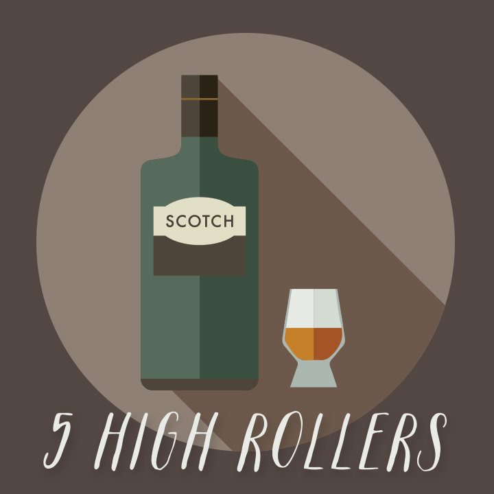 5 Best High-roller Scotches