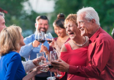 Alcohol may be less harmful to people over 50