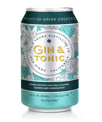 You and Yours is one of the best canned G&Ts for 2019.
