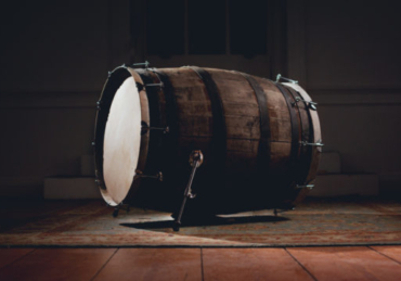 Lagavulin Barrel Used to Make 'world's First' Scotch Cask Bass Drum