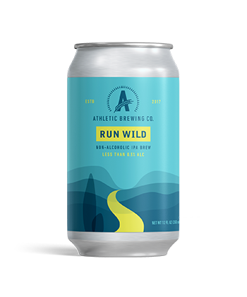 Athletic Brewing Company's Run Wild Non-Alcoholic IPA is one of the most important IPAs of 2019