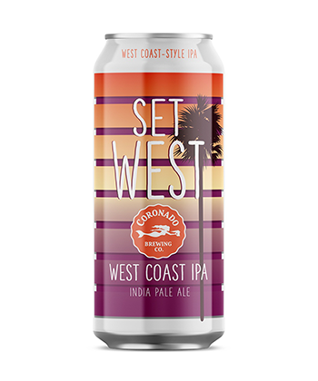 Coronado Set West West Coast Style IPA is one of the most important IPAs of 2019