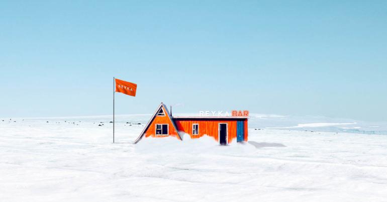 Reyka Vodka Opens 'World's First' Glacier Bar in Iceland