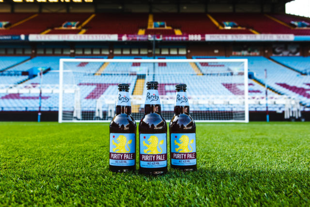 Aston Villa F.c. Signs Purity Brewing as Official Ale Supplier