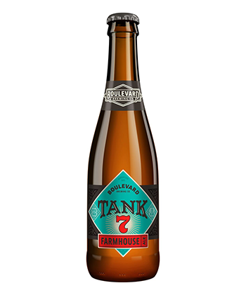 Boulevard Brewing Tank 7 is one of the best American saisons
