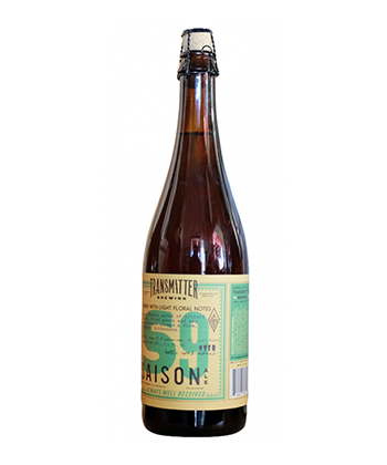 Transmitter Brewing S9 Noble Saison is one of the best American saisons