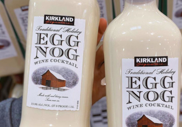 Costco Is Now Selling 'Eggnog Wine' for The Holidays