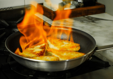 Flaming Saganaki is Exactly What You Want