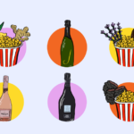 How to Upgrade Your Popcorn Nights With Bubbly [INFOGRAPHIC]