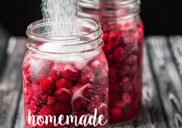 Comment on Homemade Raspberry Liqueur or Raspberry Vodka by Judy White