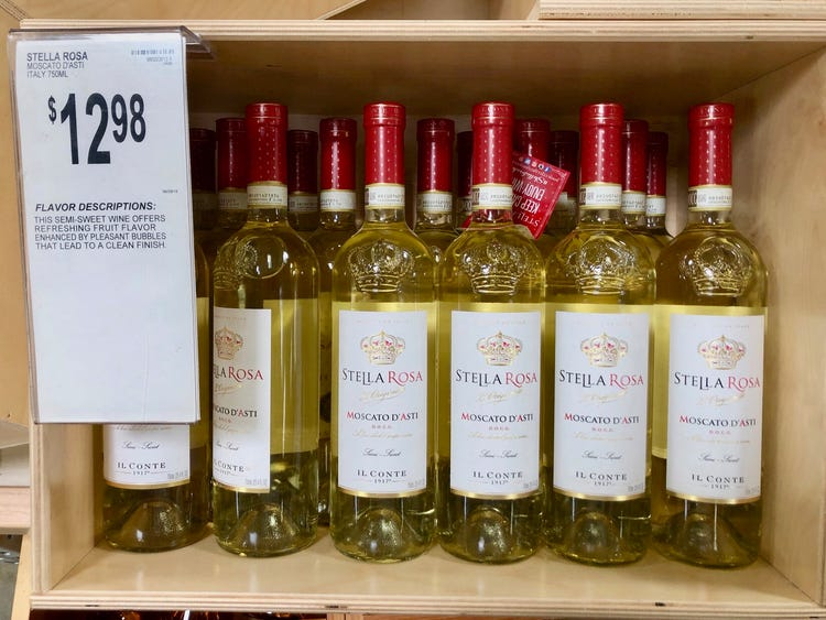 Buying Alcohol in Bulk is Cheaper