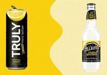 We Blind Tasted Mike's Hard Lemonade vs. Truly Lemonade Hard Seltzer