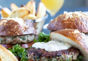 The Ultimate Healthy Turkey Burgers for Cilantro Lovers