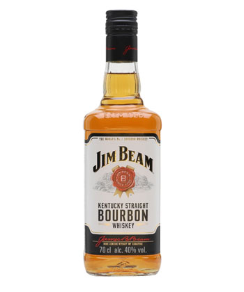 Jim Beam Kentucky Straight Bourbon is one of the best cheap whiskeys you can buy.